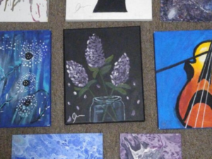 How one Pathways student is inspiring others through art
